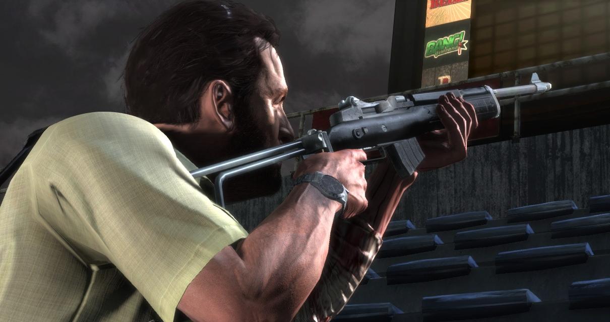 Max Payne 3 ukazuje pušku Mini-30 60866