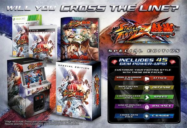 Street Fighter x Tekken odhaluje speciální edici 61005