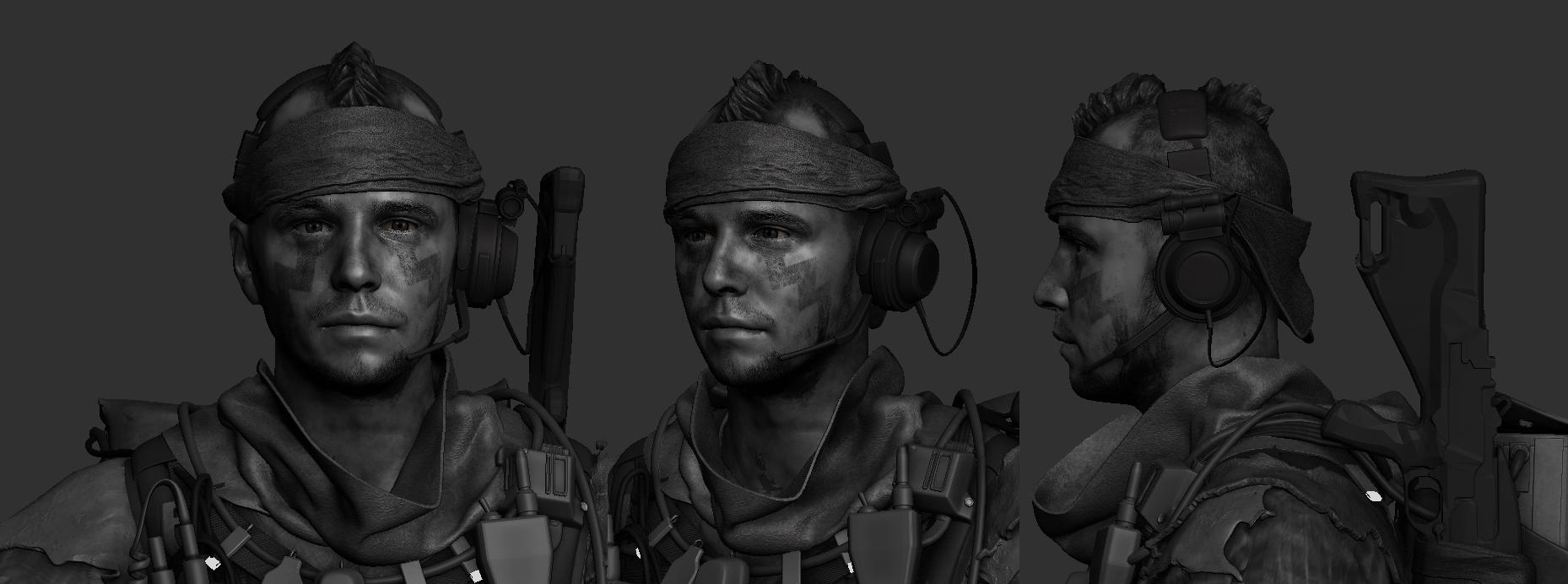 Doom 4 opět vnadí screenshoty a artworky 61109