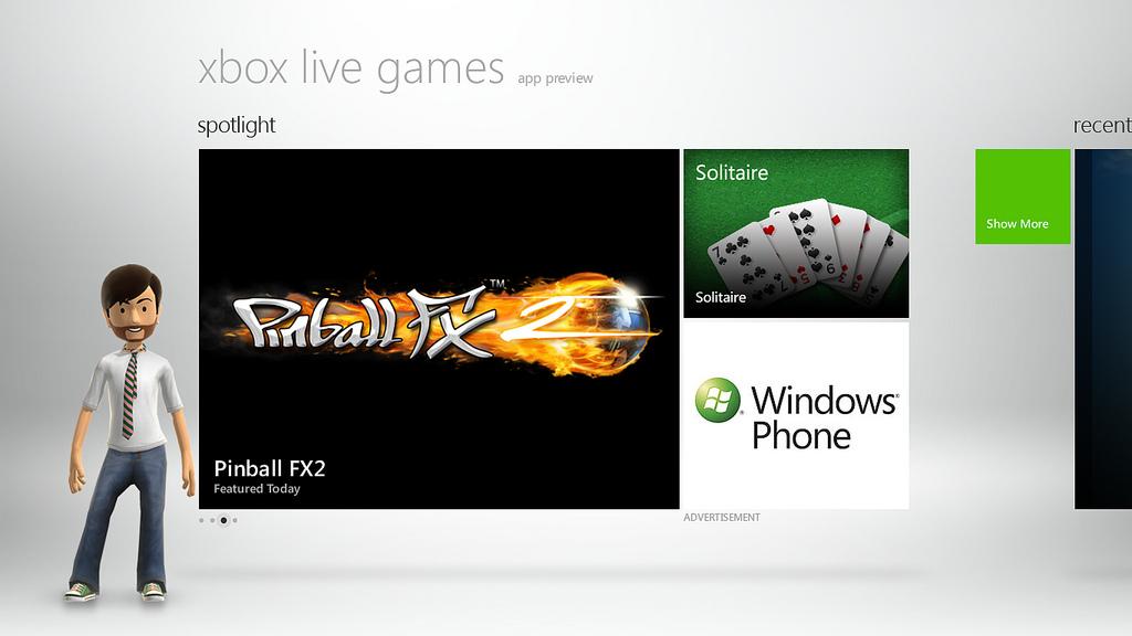 Jak vypadá Xbox Live na Windows 8? 61361