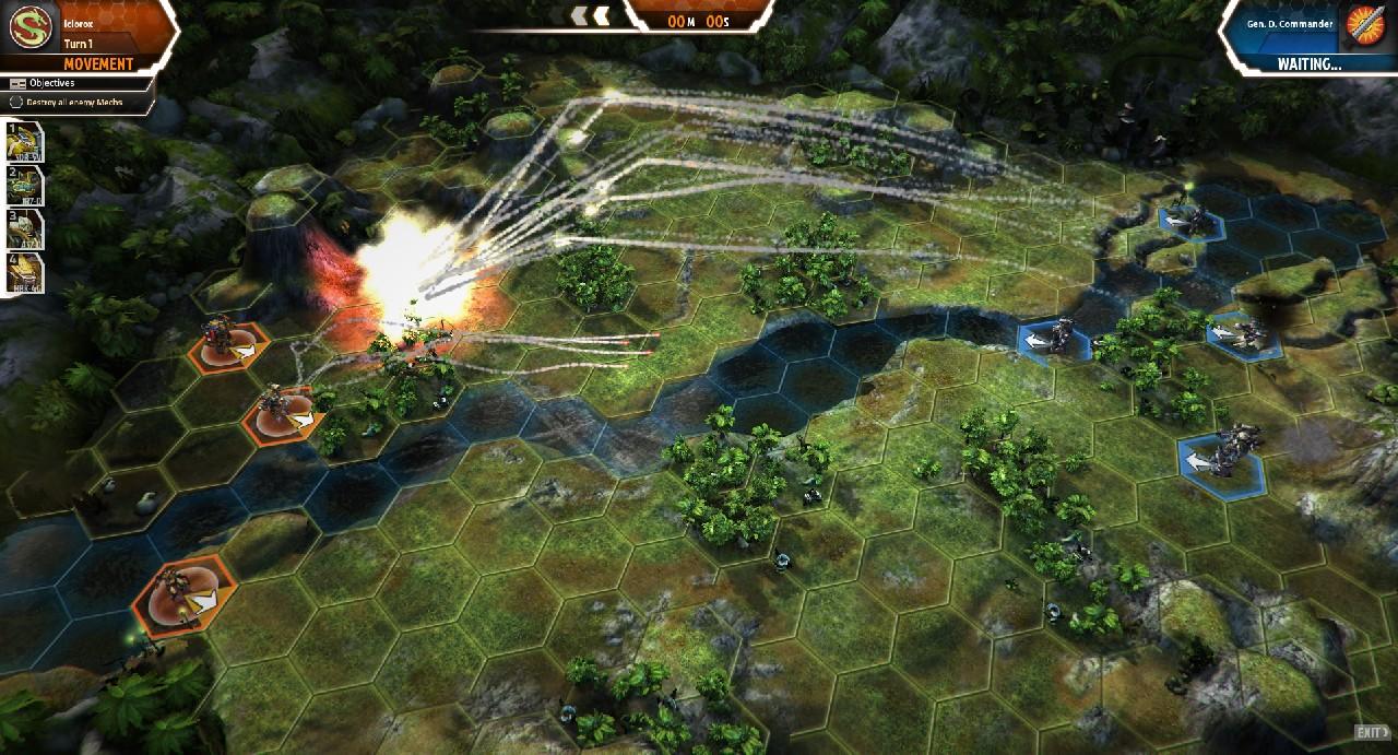 První obrázky z MechWarrior Tactics 61494
