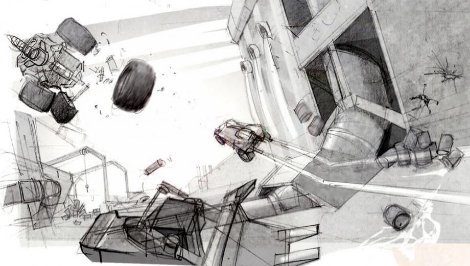První artworky z Carmageddon: Reincarnation 61545