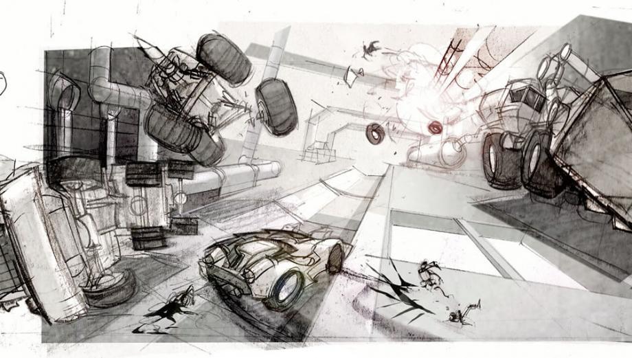 První artworky z Carmageddon: Reincarnation 61547