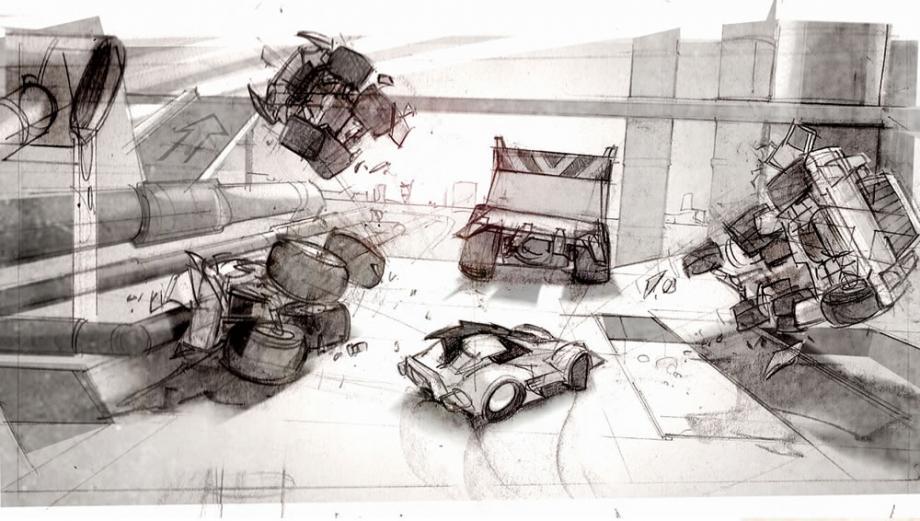 První artworky z Carmageddon: Reincarnation 61548