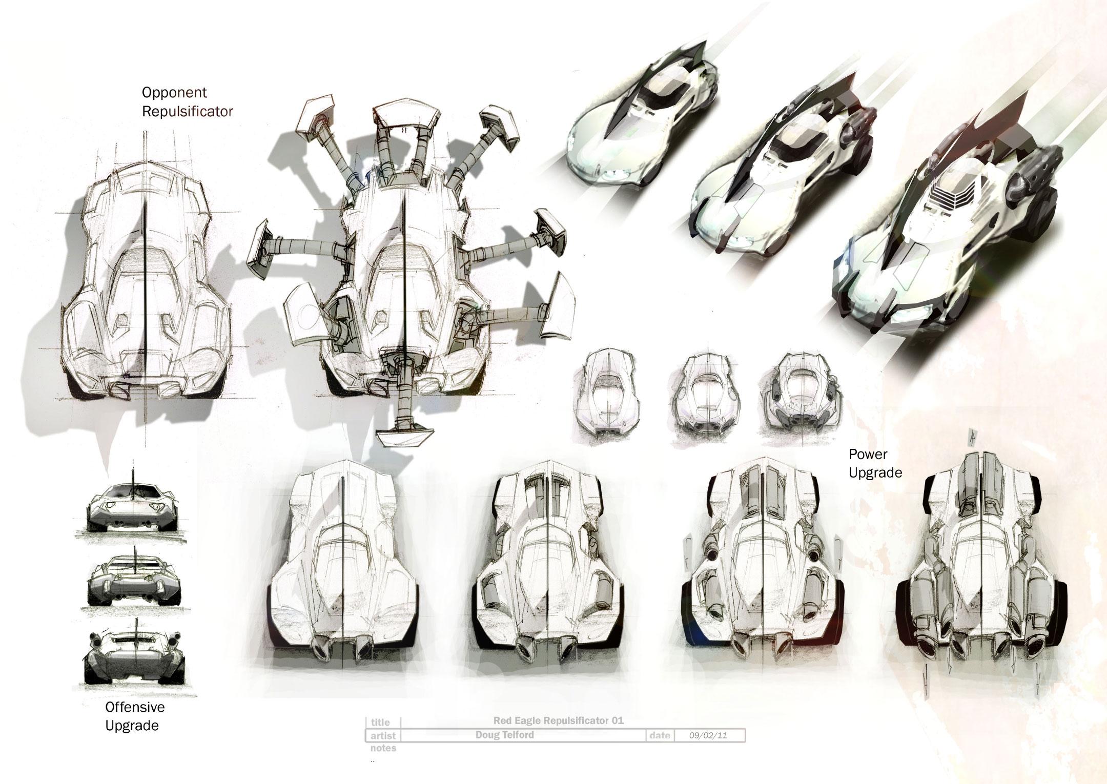 První artworky z Carmageddon: Reincarnation 61553