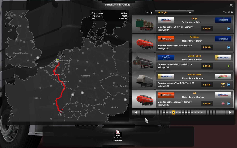 Gameplay záběry z Euro Truck Simulator 2 61612