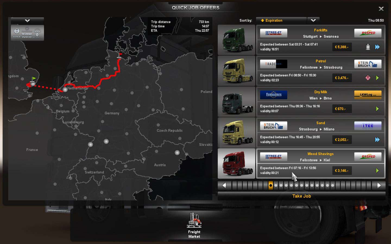 Gameplay záběry z Euro Truck Simulator 2 61613
