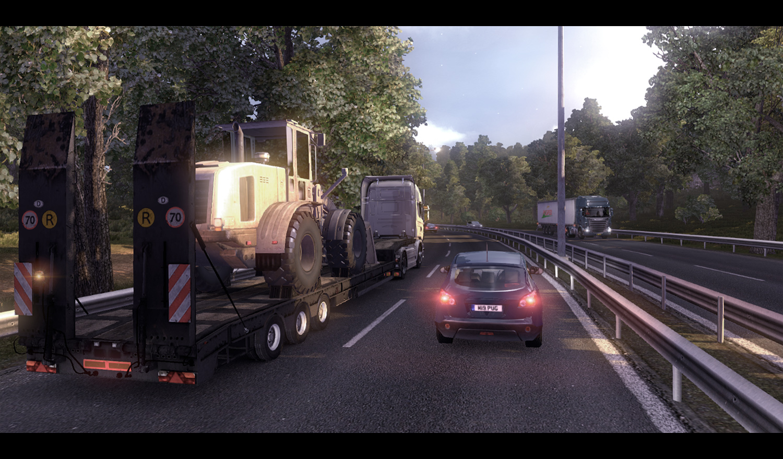 Gameplay záběry z Euro Truck Simulator 2 61620