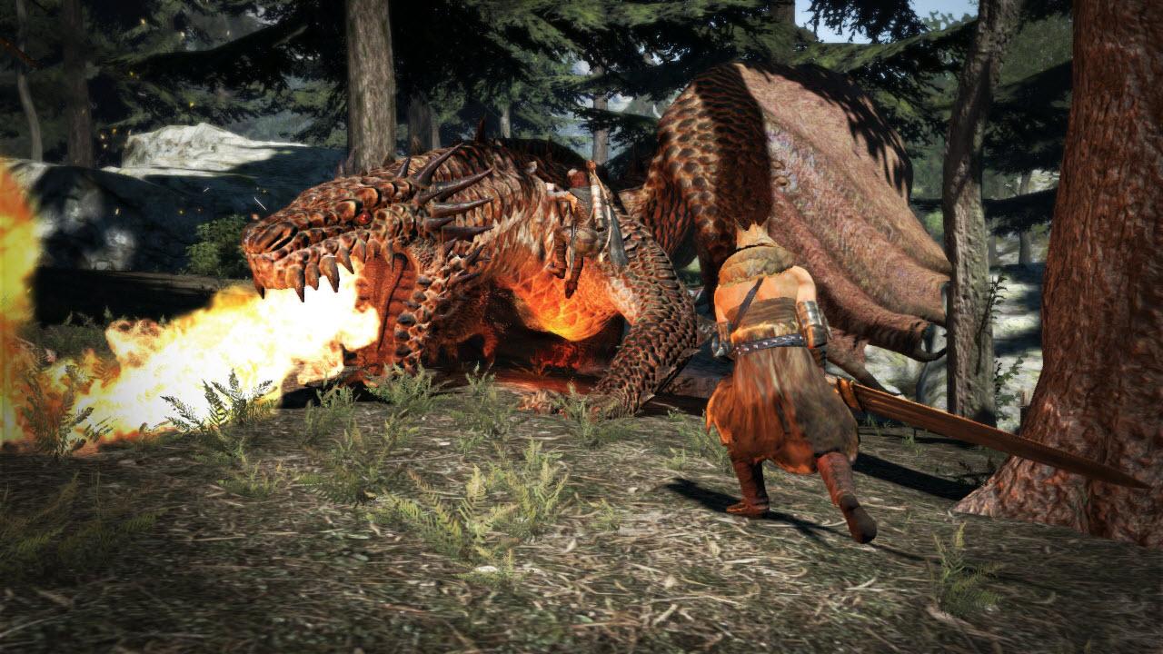 Souboj s drakem z Dragon's Dogma 61660