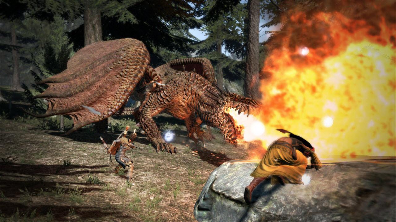 Souboj s drakem z Dragon's Dogma 61661
