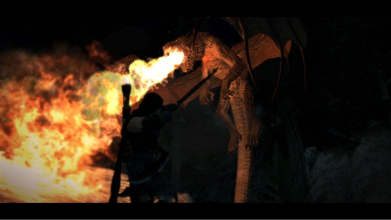 Souboj s drakem z Dragon's Dogma 61665