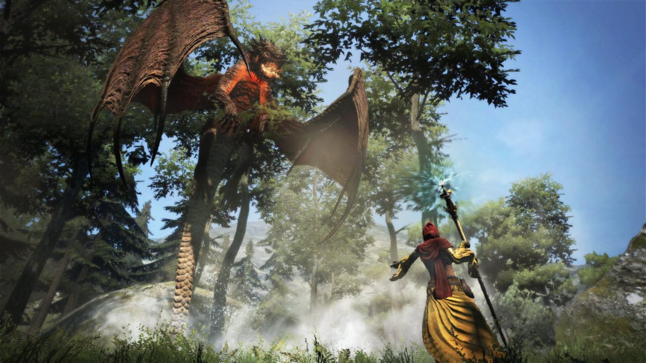 Souboj s drakem z Dragon's Dogma 61666