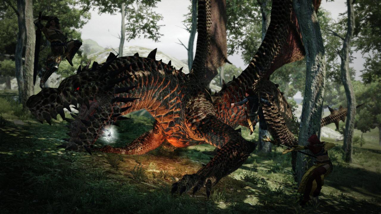 Souboj s drakem z Dragon's Dogma 61667