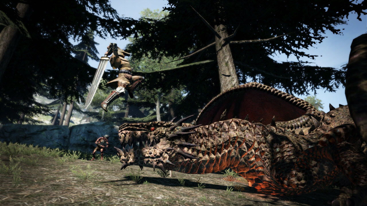 Souboj s drakem z Dragon's Dogma 61668
