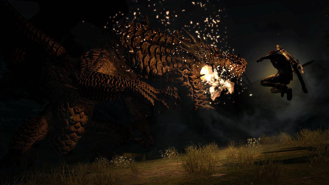 Souboj s drakem z Dragon's Dogma 61669
