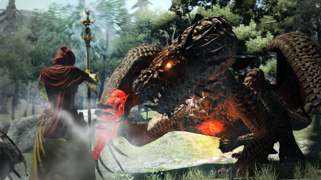 Souboj s drakem z Dragon's Dogma 61670