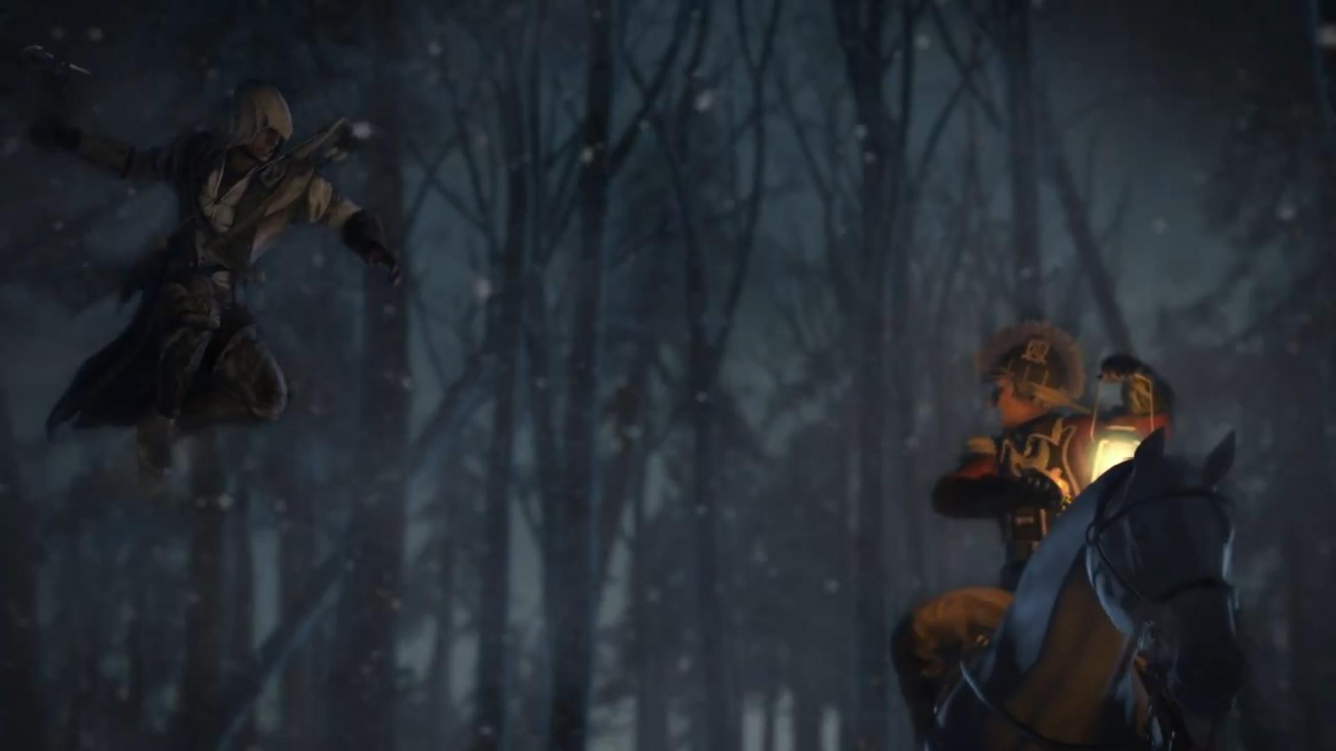 Assassin's Creed 3 - Rozbor prvního traileru 61680