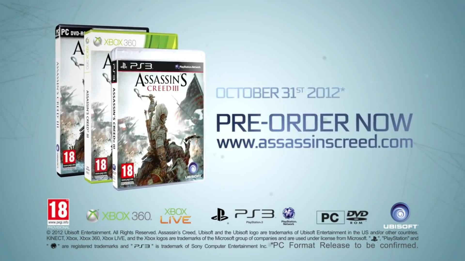 Assassin's Creed 3 - Rozbor prvního traileru 61706
