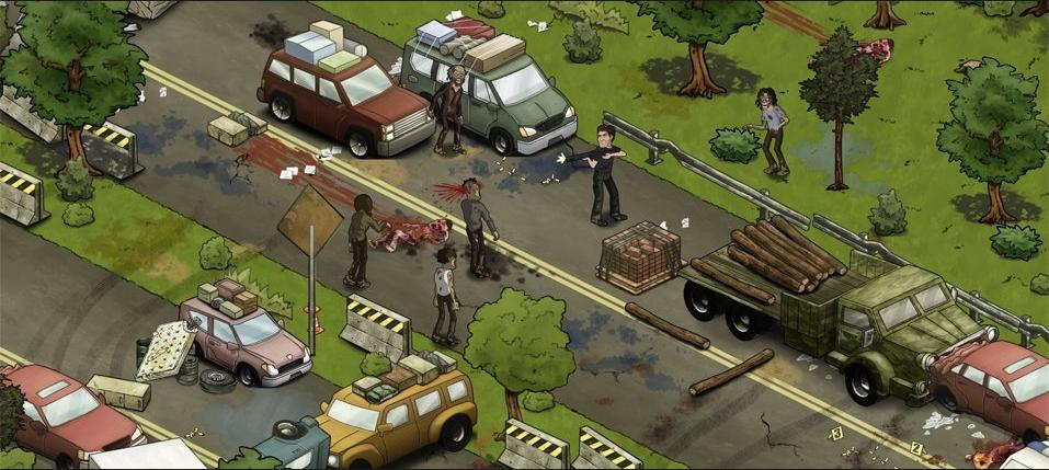 Vyzkoušejte betu sociální hry The Walking Dead 61949