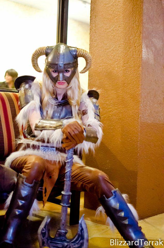 Skvělý cosplay z mrazivého Skyrimu 61973