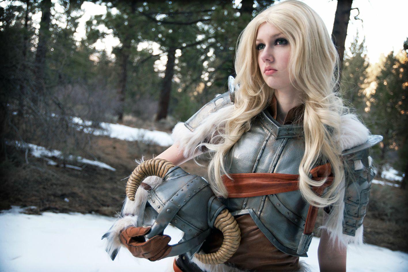 Skvělý cosplay z mrazivého Skyrimu 61974