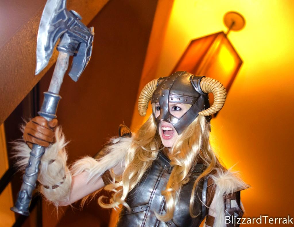 Skvělý cosplay z mrazivého Skyrimu 61975