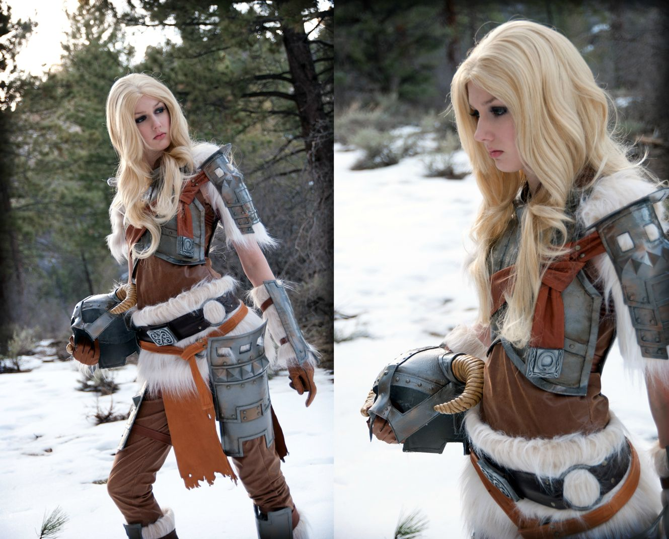 Skvělý cosplay z mrazivého Skyrimu 61976