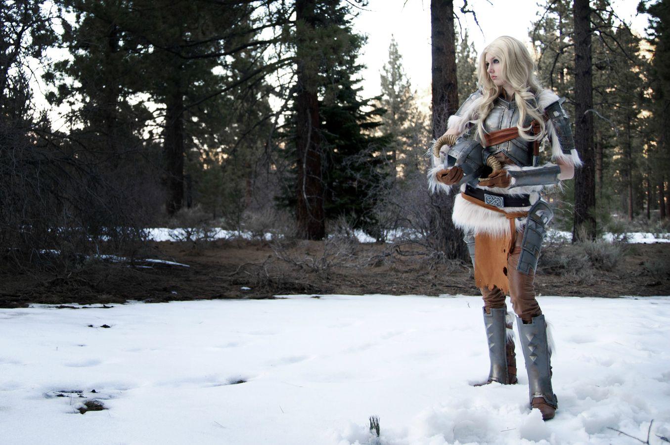 Skvělý cosplay z mrazivého Skyrimu 61977