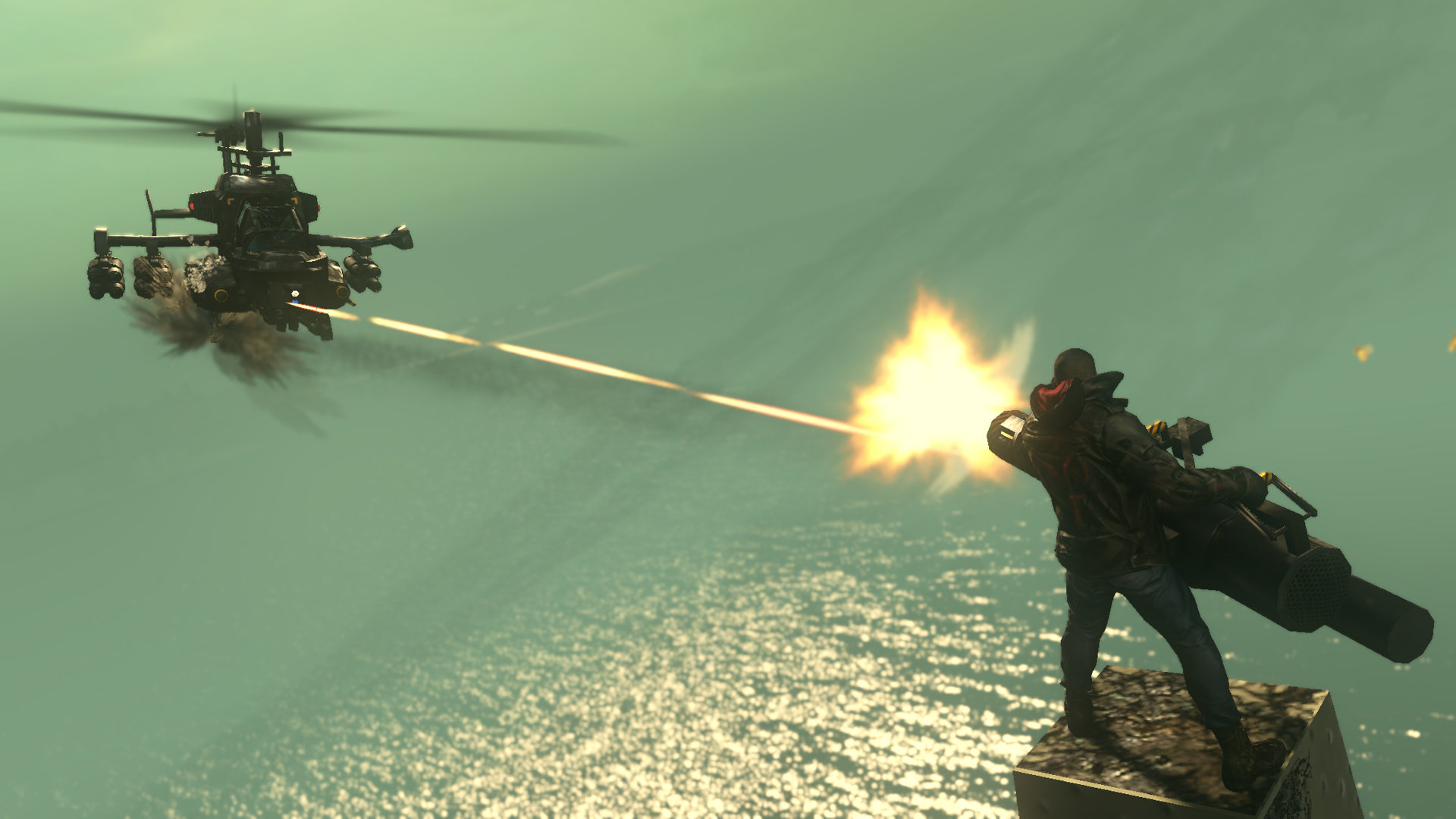 Video: Útok na helikoptéru v Prototype 2 61991