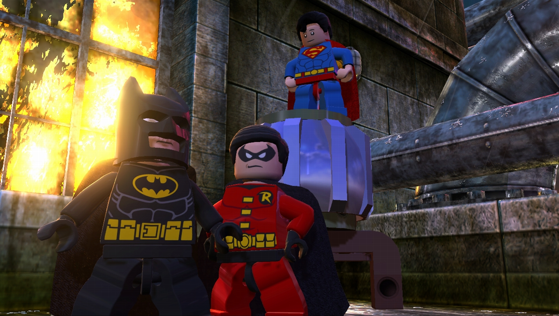 První trailer a screenshoty z LEGO Batman 2 62197