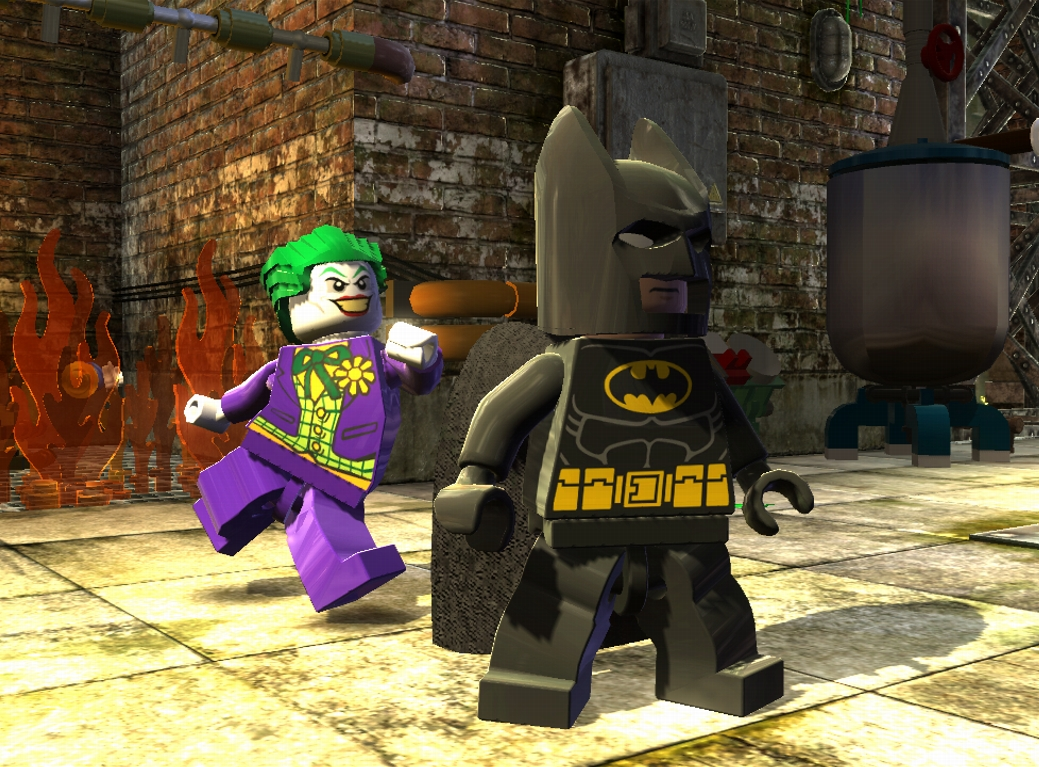 První trailer a screenshoty z LEGO Batman 2 62202