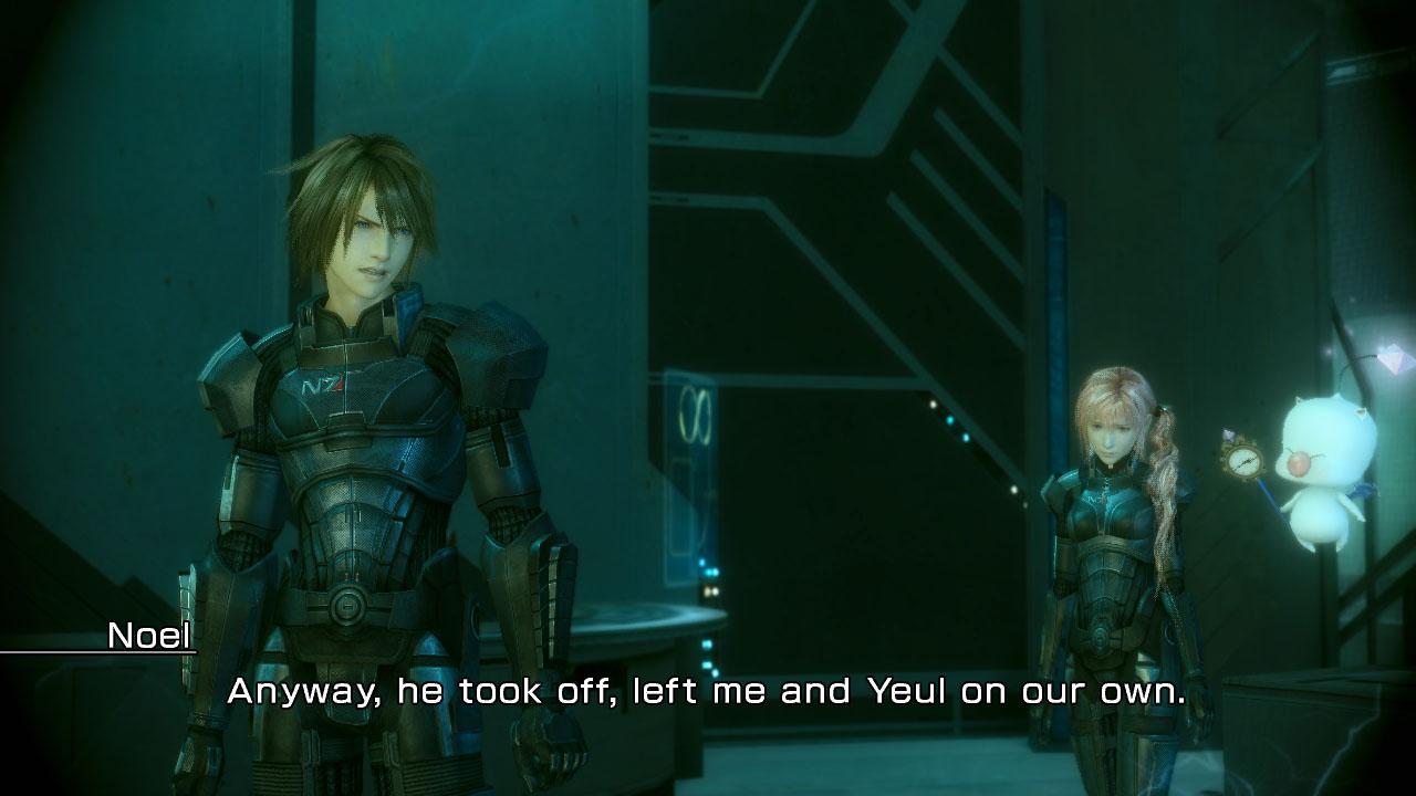 Final Fantasy XIII-2 s brněním Mass Effectu 62569