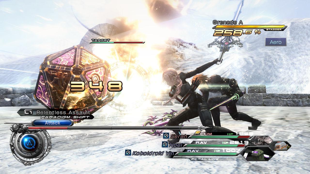Final Fantasy XIII-2 s brněním Mass Effectu 62571