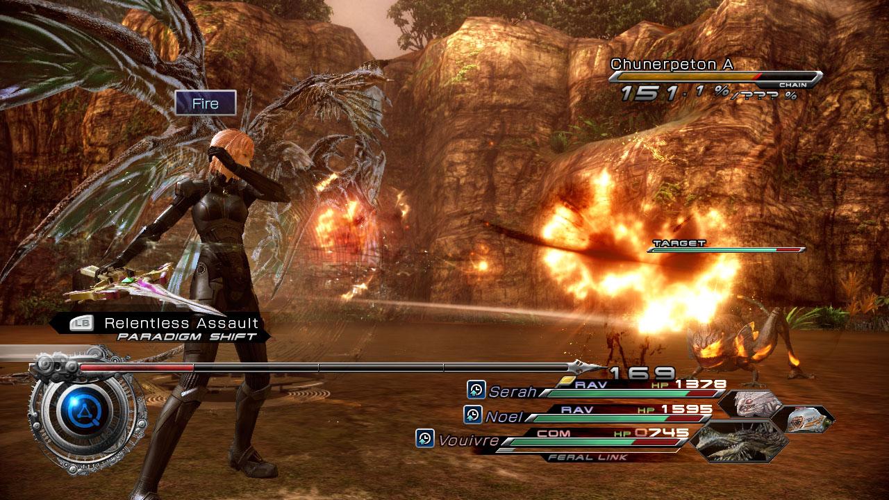 Final Fantasy XIII-2 s brněním Mass Effectu 62573