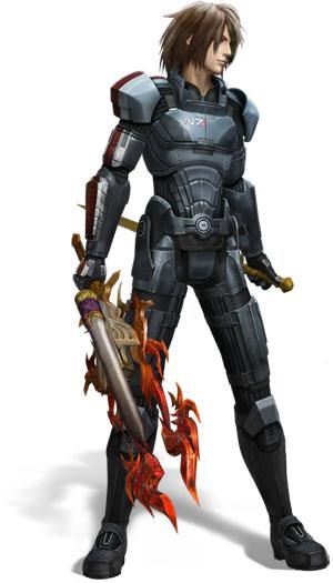 Final Fantasy XIII-2 s brněním Mass Effectu 62576