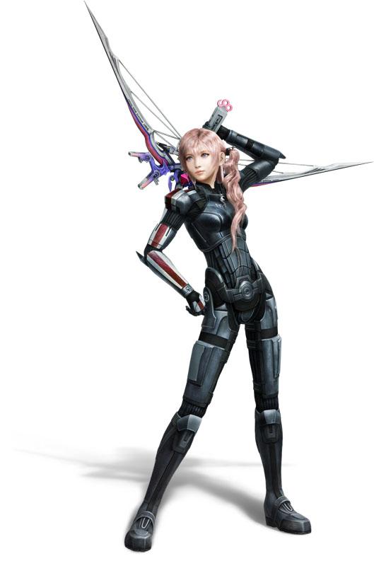 Final Fantasy XIII-2 s brněním Mass Effectu 62577