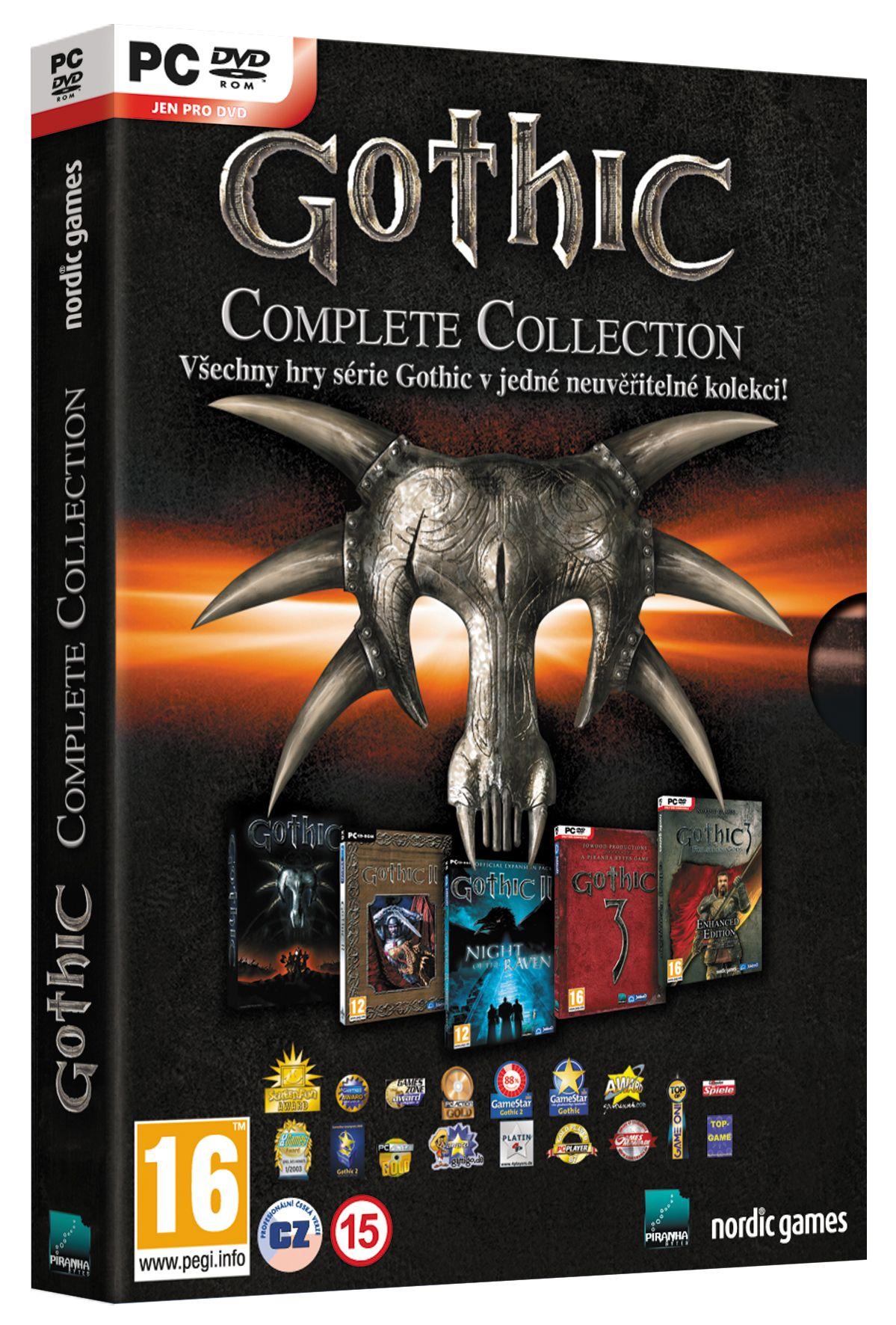 Oznámena kolekce všech her série Gothic od Piranha Bytes 62862