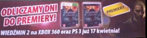 Polská reklama láká na Zaklínače 2 pro PS3 62965