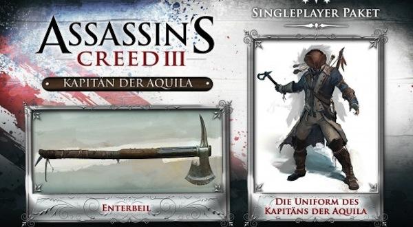 PC verze Assassin's Creed 3 s plakátem a balíčky za 798 Kč 63583