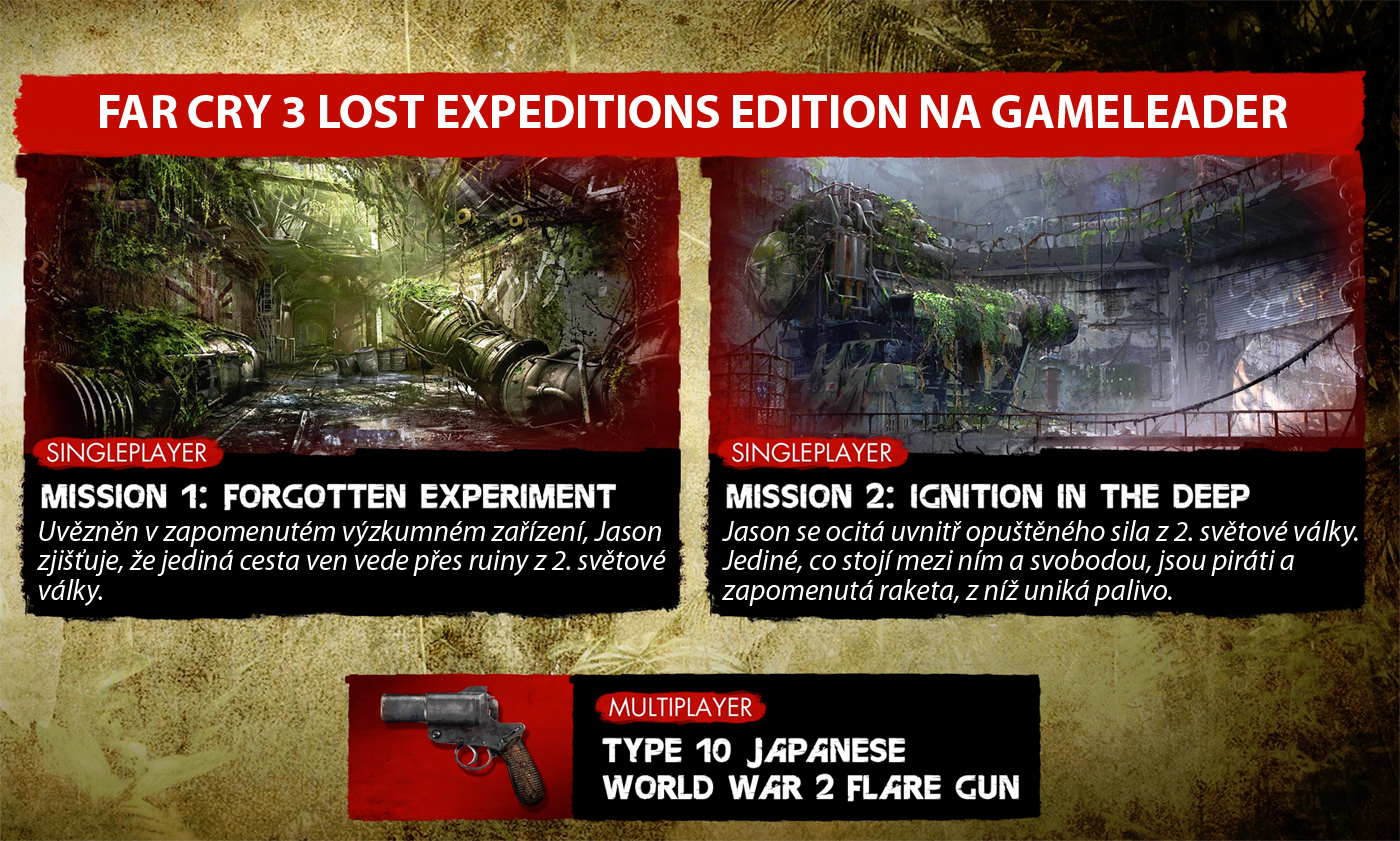 Far Cry 3: Lost Expeditions Edition jen do 30. září 64277