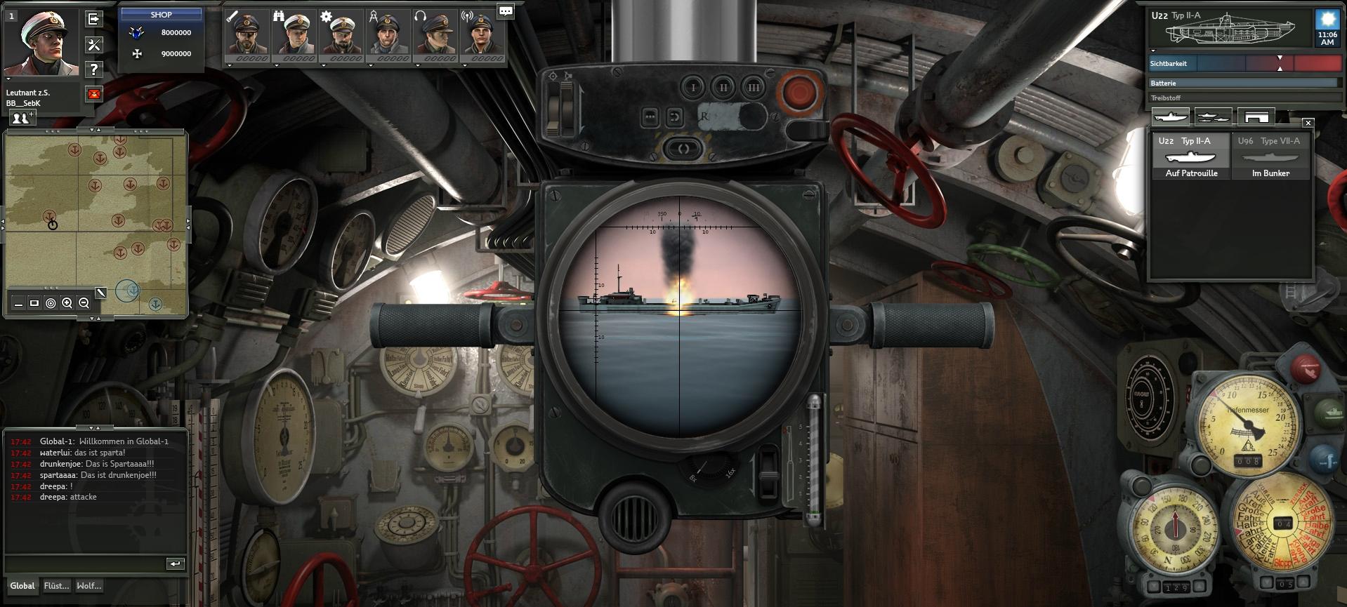 Oznámen free-to-play simulátor Silent Hunter 64286
