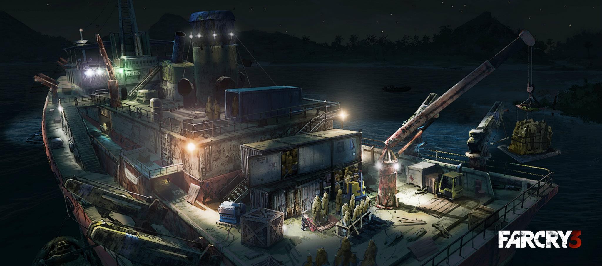 Artworky z různých prostředí Far Cry 3 64395