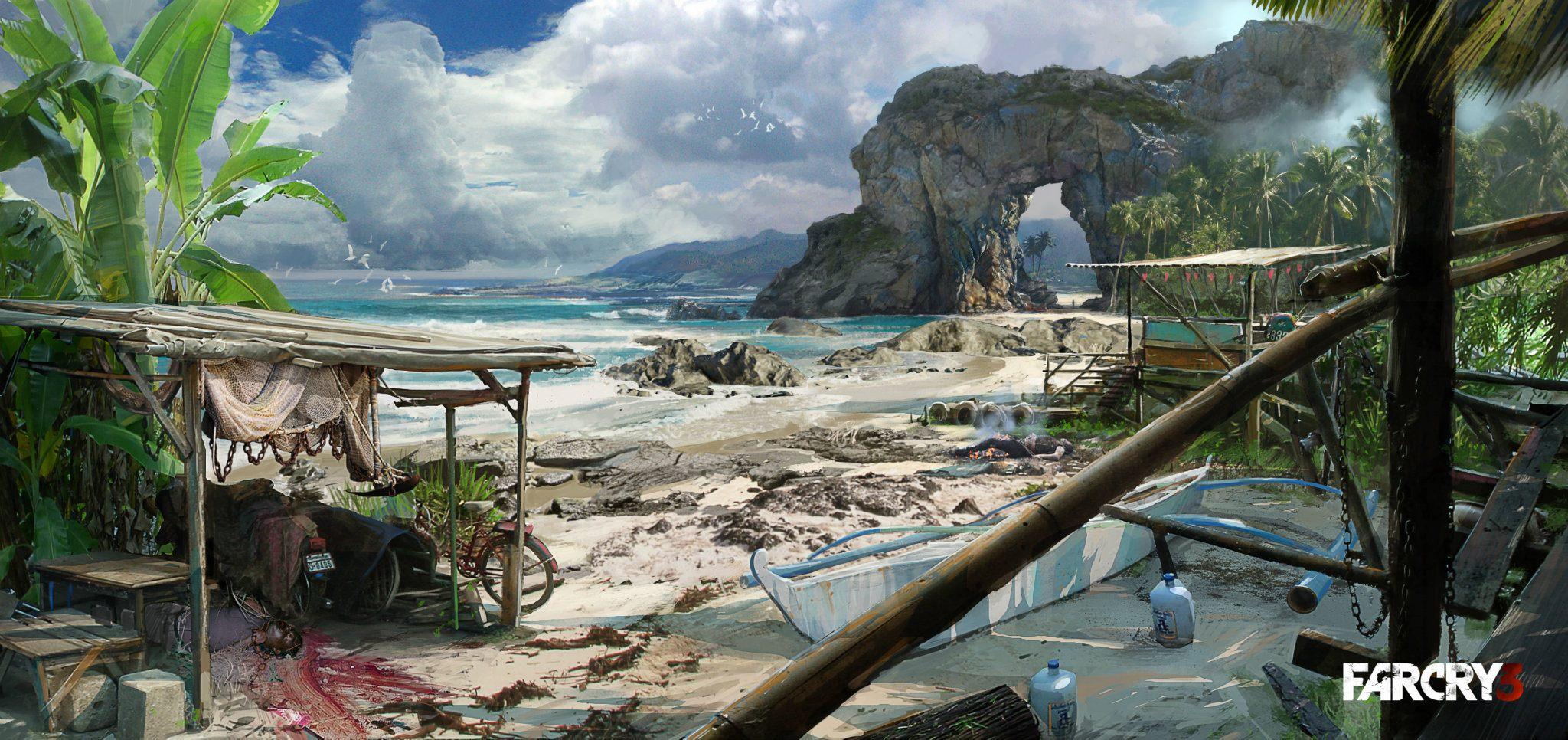 Artworky z různých prostředí Far Cry 3 64396