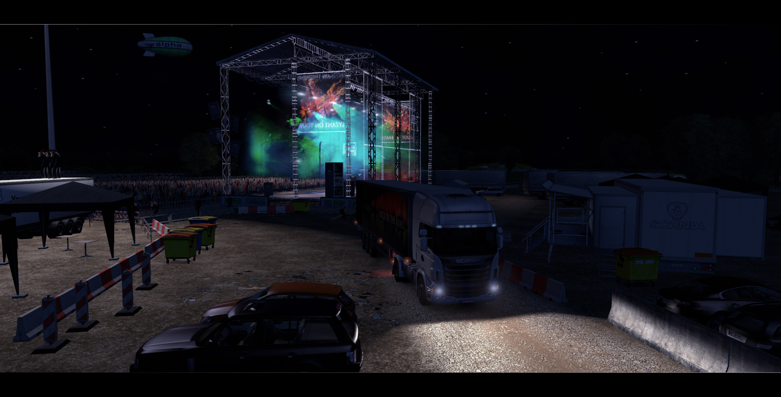 Oznámeny závody Scania Truck Driving Simulator 64417