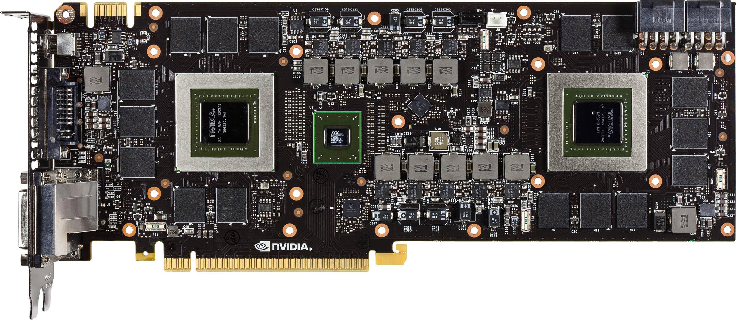 Nvidia představila grafickou kartu GeForce GTX 690 64425