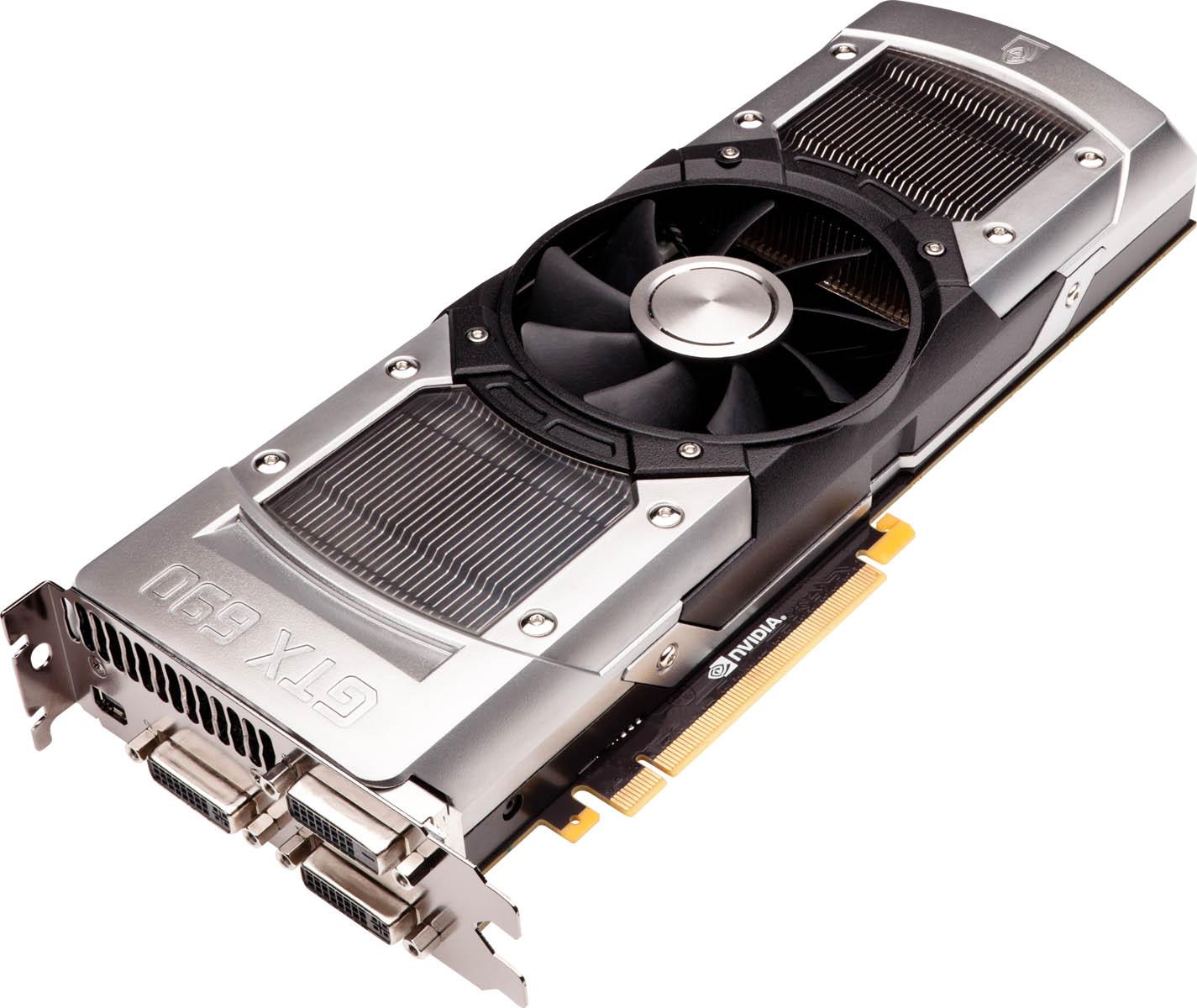 Nvidia představila grafickou kartu GeForce GTX 690 64427