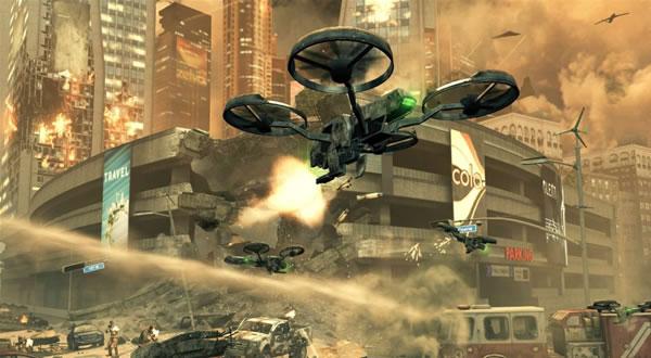 Black Ops 2 opravdu v budoucnosti, dokazují první obrázky 64494
