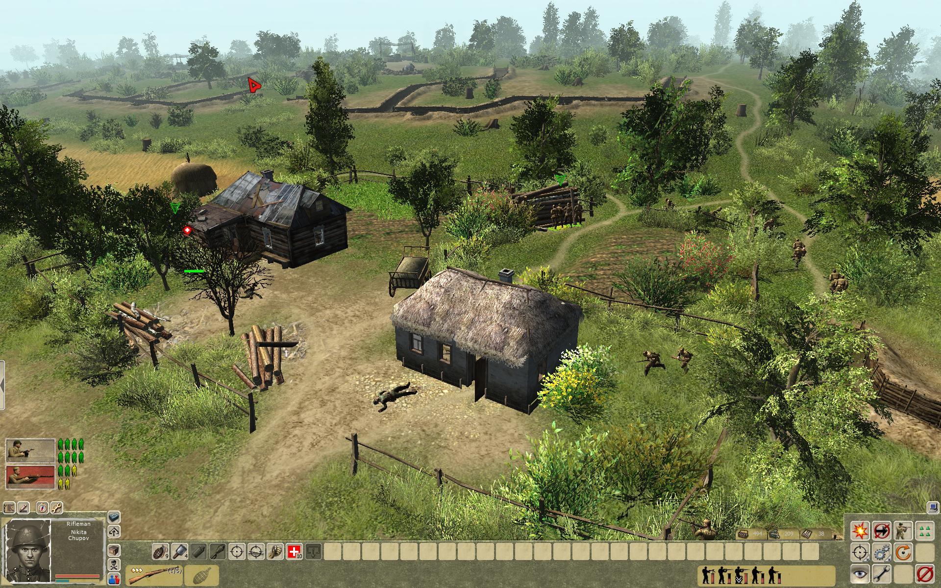 Trestancem v Men of War: Condemned Heroes 64498