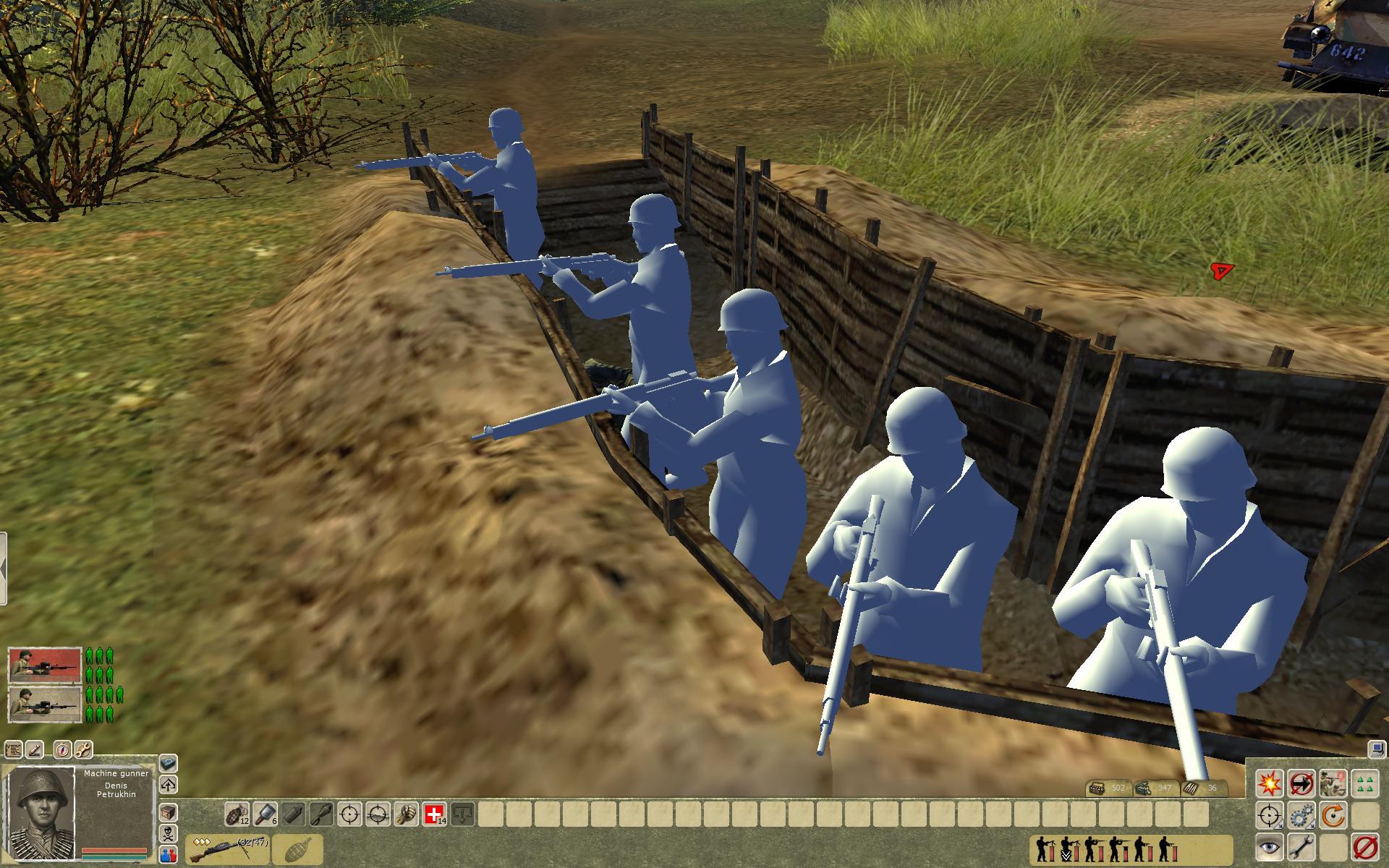 Trestancem v Men of War: Condemned Heroes 64537