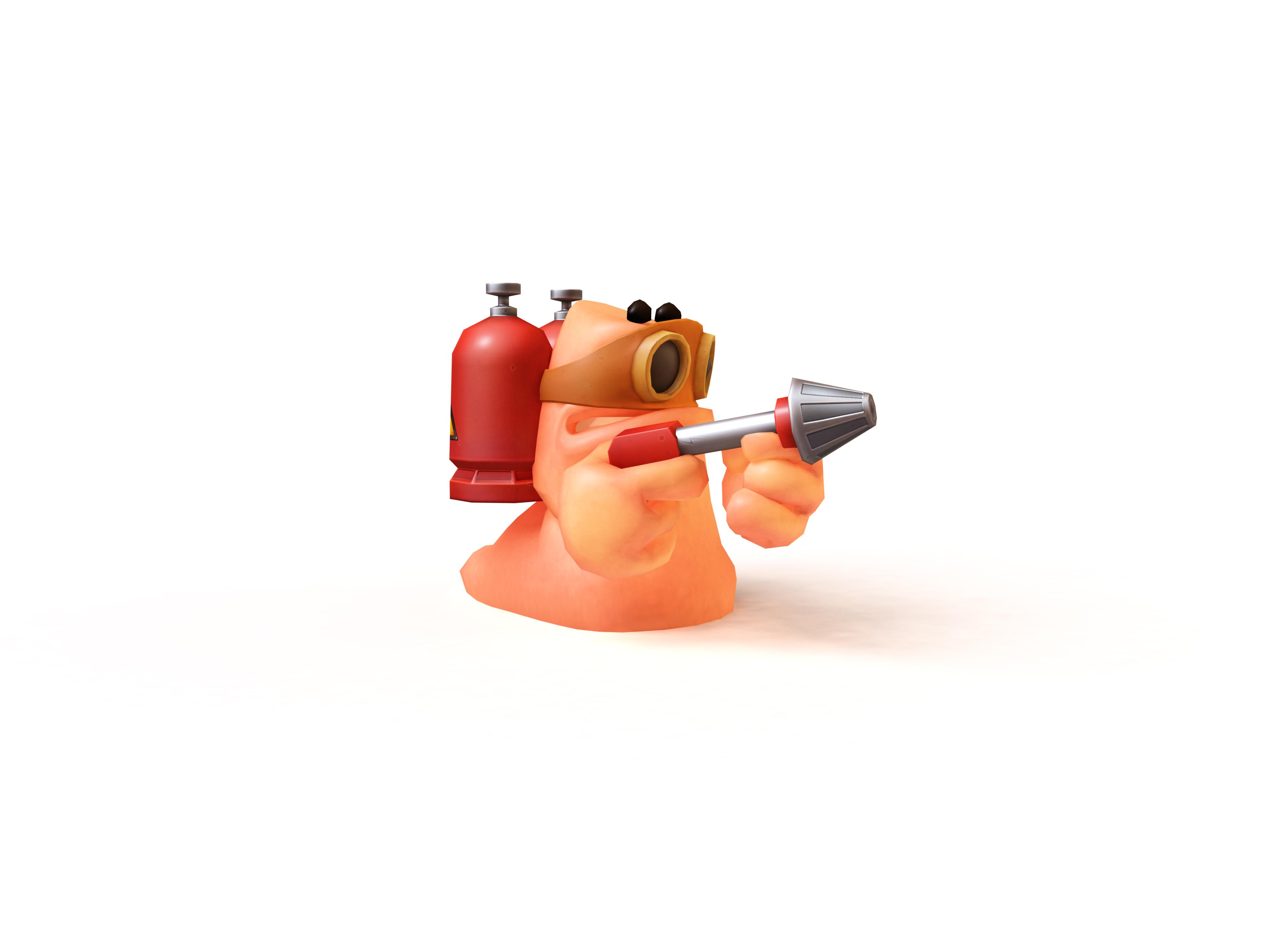 Artworky červů z Worms Revolution 64623